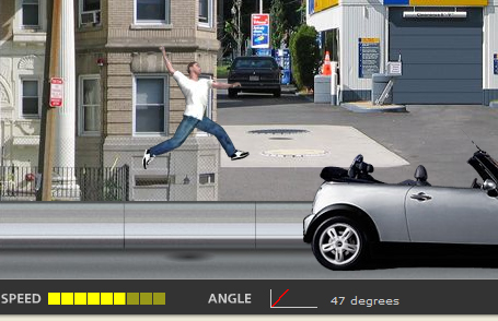 Mini USA Jumping Game Screenshot